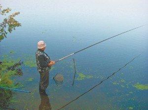 глубинная ловля на течении
